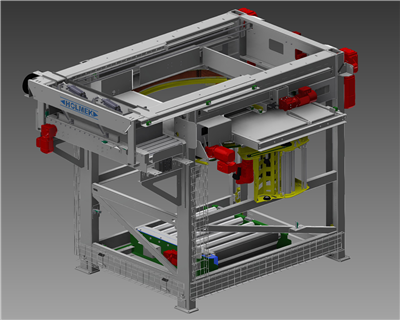 HOLMEK HAS STARTED WITH PRODUCTION OF A NEW PALLETIZING FACILITY TO TRAWLER! NEW DESIGN 2015!
